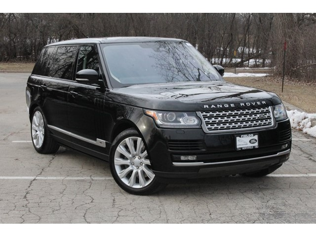 Land Rover Northfield >> Certified Pre Owned 2016 Range Rover Details