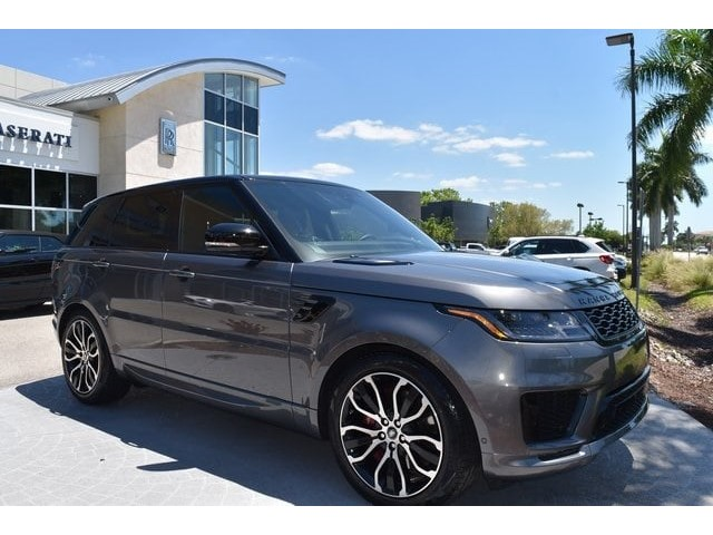 2019 Land Rover Range Sport Supercharged Dynamic