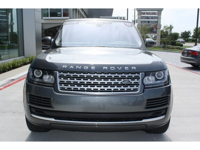 Certified Pre-Owned 2017 Range Rover Details