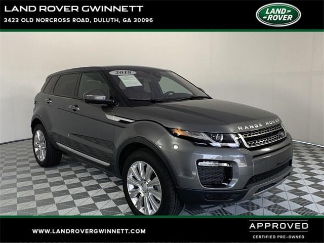 Range Rover Gwinnett >> Certified Pre Owned 2018 Range Rover Evoque Details
