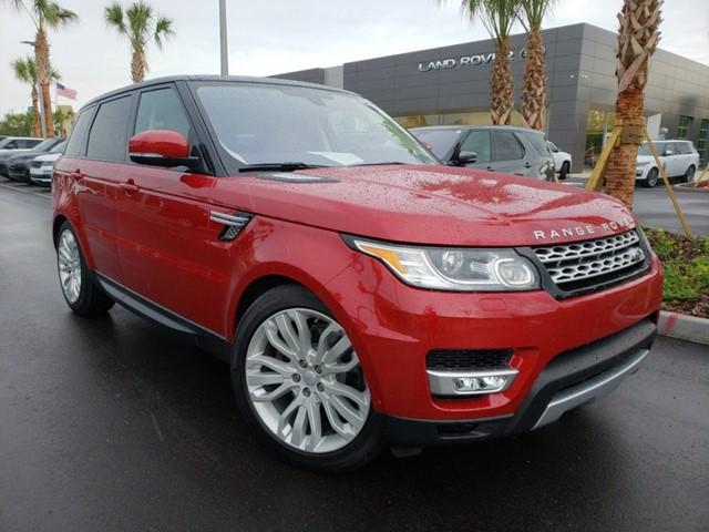 Land Rover Jacksonville >> Pre Owned 2016 Jaguar Range Rover Sport For Sale In Jacksonville Fl