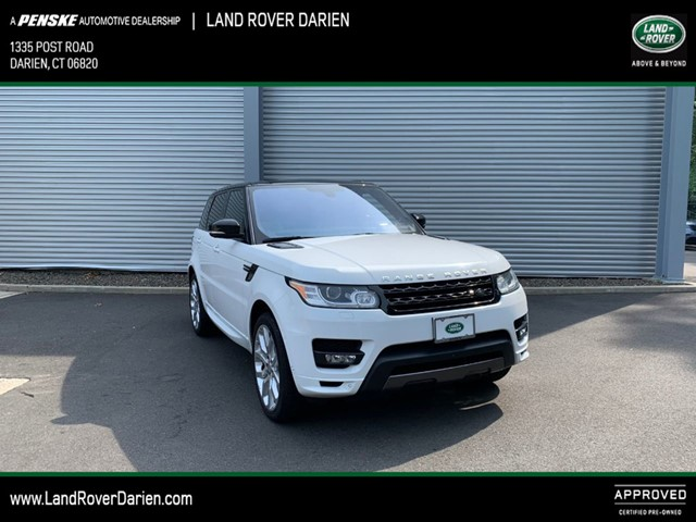 Land Rover Darien >> Certified Pre Owned 2016 Range Rover Sport Details