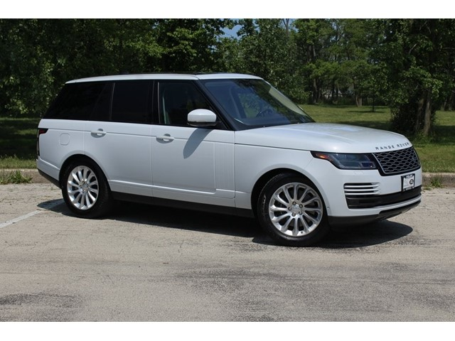 Land Rover Northfield >> Certified Pre Owned 2018 Range Rover Details