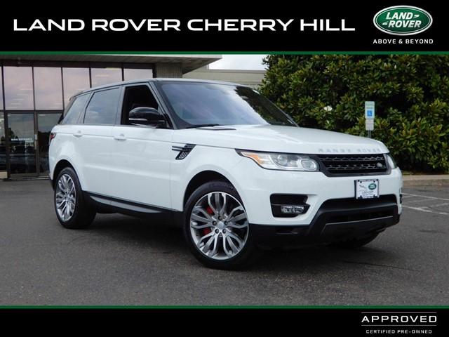 Range Rover Cherry Hill >> Pre Owned 2016 Jaguar Range Rover Sport For Sale In Cherry